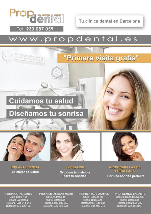 página web de salud dental