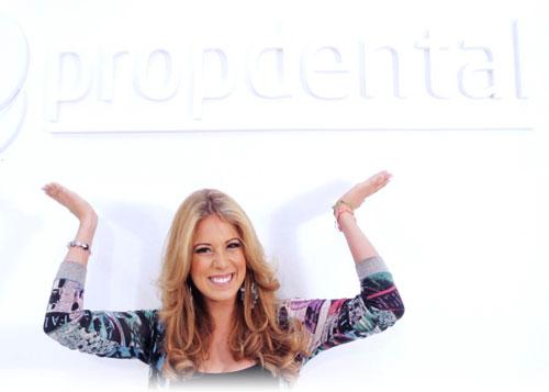 Ortodoncia invisalign de la Miss España