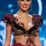 Miss Universe 2012 Las Vegas con una sonrisa perfecta de carillas de porcelan