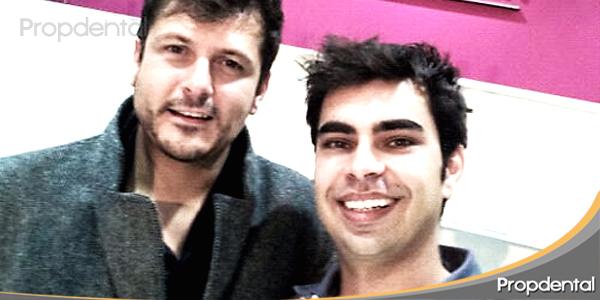 odontólogo de actores con el cineasta Kike Maíllo