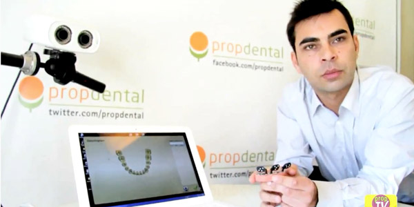 tecnologia video y escaners en protesis sobre implantes dentales