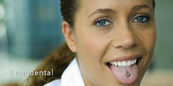piercing lingual