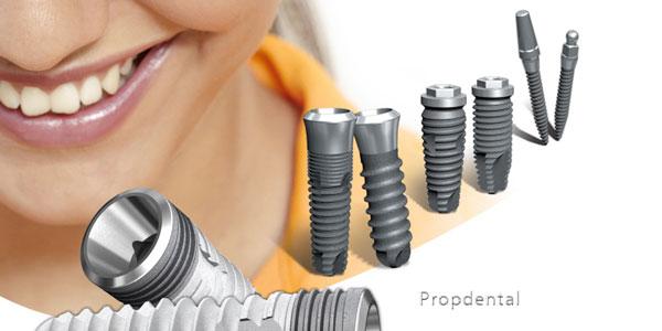 alergia al titanio de los implantes dentales