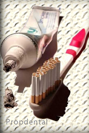 enfermedad periodontal y tabaco