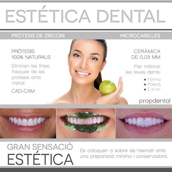 prótesis dentales estéticas