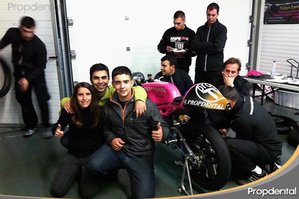equipo de motos