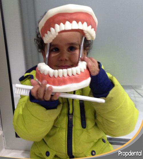 odontopediatria en niños