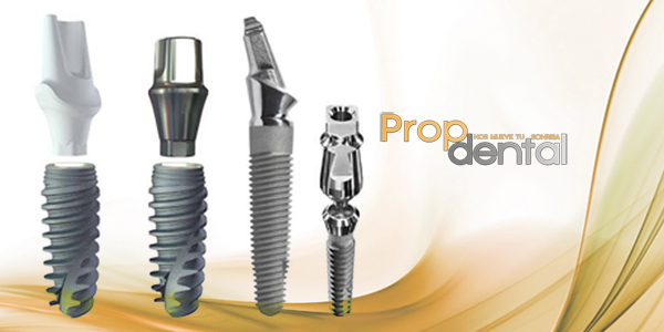 implantes de titanio en Propdental Barcelona y Madrid