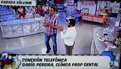 dentista dario de propdental en salvame deluxe