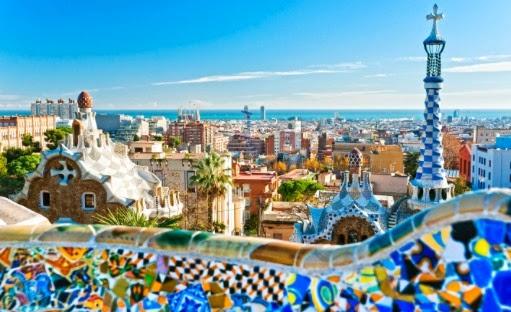 parque guell de Gaudi