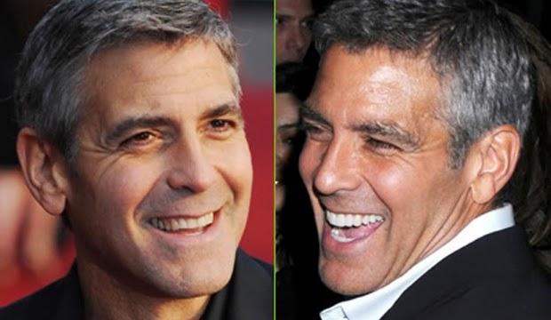 George Clooney sonrisa