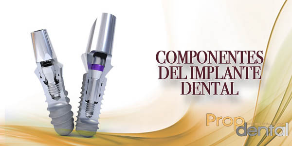 componentes del implante dental