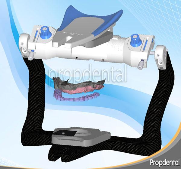 articulador para prótesis dentales