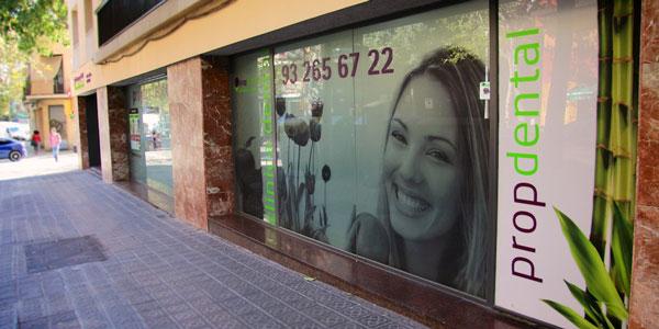 implantes en un día en Barcelona