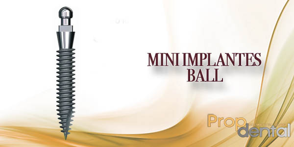 mini implantes ball