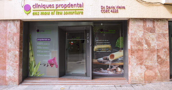 nuestras clínicas dentales en Barcelona