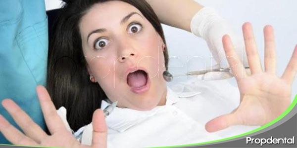 síntomas de miedo al dentista