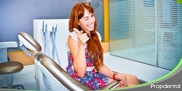 la experiencia de ir al dentista