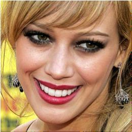 Hilary Duff sonrisa