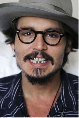 Johnny Depp dientes
