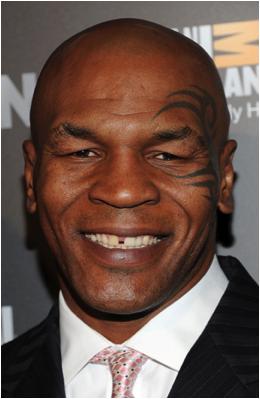 Mike Tyson dientes