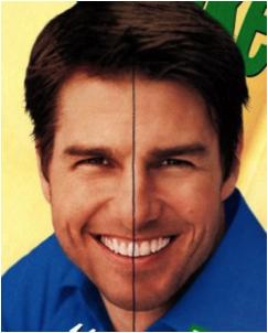 Tom Cruise sonrisa
