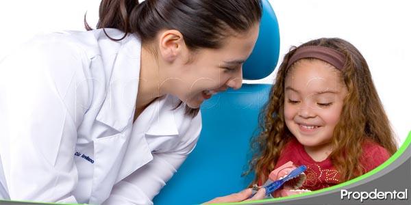 lleve a su hijo al dentista
