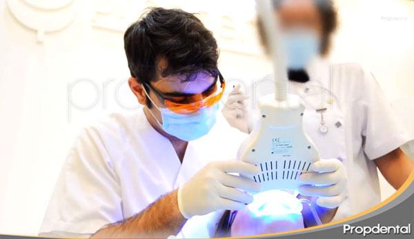 noelia lopez blanqueamiento con el dentista de famosos