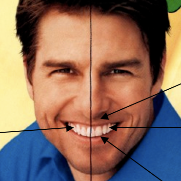 tom cruise dientes