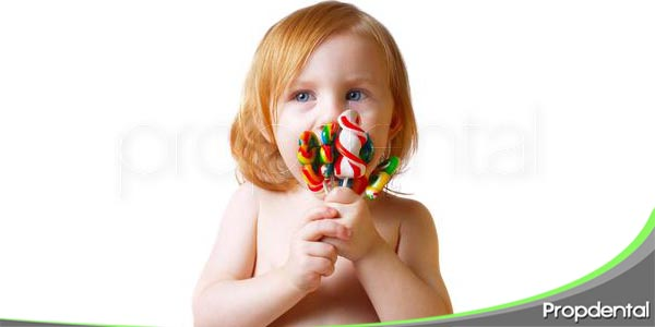 causas de la caries infantil