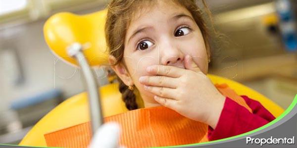 el miedo de los niños a ir al dentista