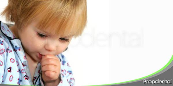 hábitos infantiles que perjudican la salud dental