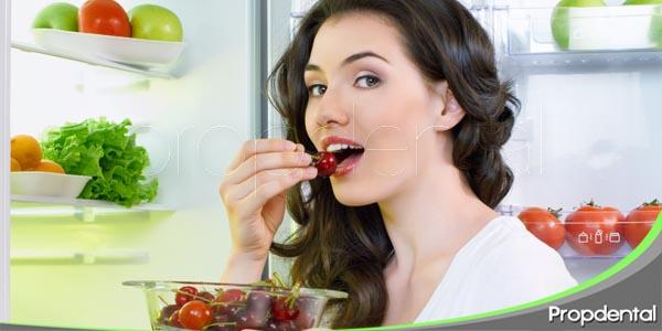 influencia de la alimentación en la salud bucodental