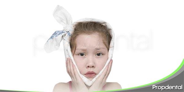 dolor de muelas en los niños