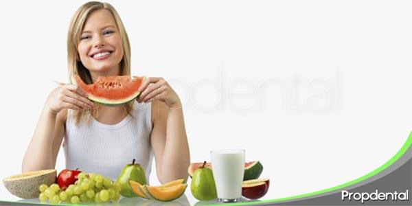la dieta en el desarrollo de patologías orales