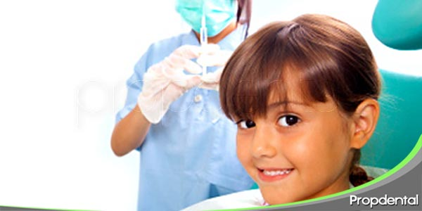 uso de anestesia en pacientes infantiles