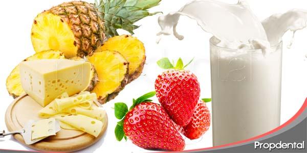 alimentos que nos ayudan a mantener los dientes blancos