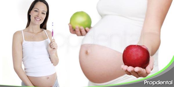 cuidados dentales que debe llevar una mujer embarazada