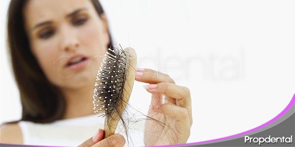 la alopecia areata pérdida de cabello con origen dental