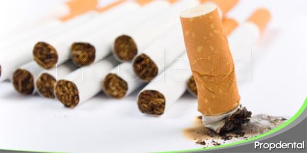efectos nocivos del tabaco en la salud oral