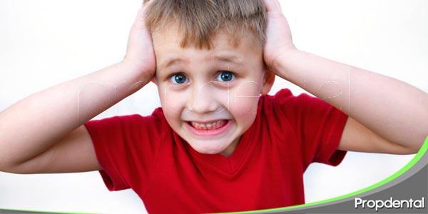 la ansiedad infantil en odontología