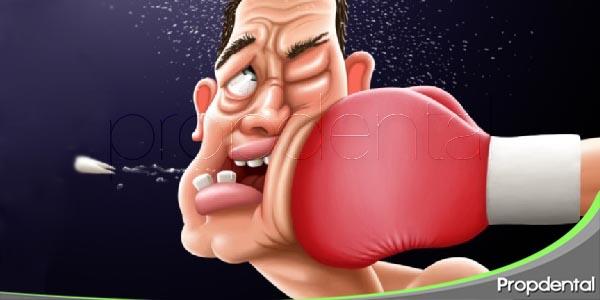 lesiones dentales deportivas