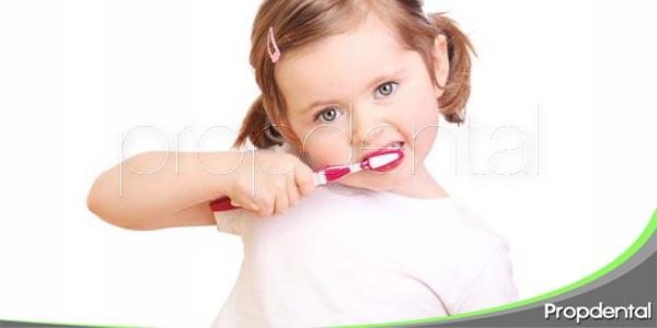 uso de flúor en niños