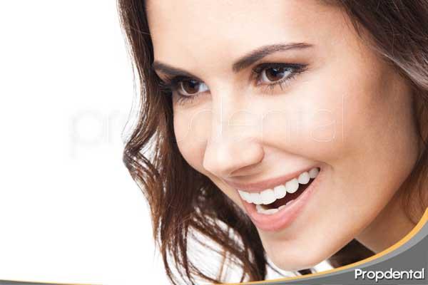 componentes de la sonrisa