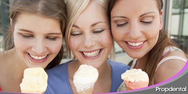 el cuidado de los dientes durante el verano