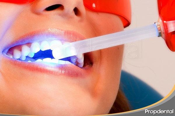 uso láser dental odontologia