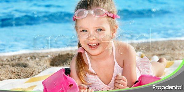 cómo mantener la salud dental de tu hijo este verano