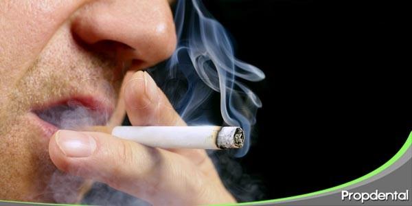 efectos de fumar en la salud oral