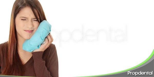 dolor en los tratamientos dentales