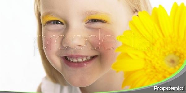 la pérdida de encía en niños